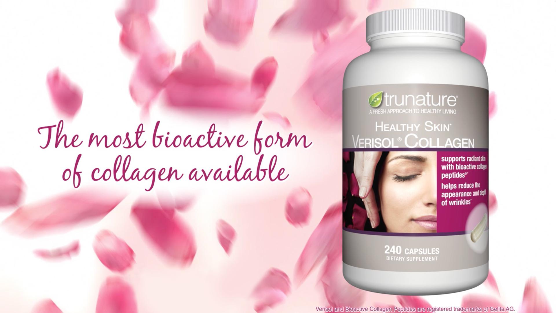 Viên uống bổ sung Collagen Trunature Healthy Skin hỗ trợ chăm sóc da tươii trẻ