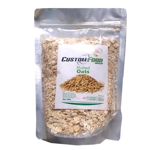 Yến mạch Úc Custom Food cán dẹp, nguyên chất