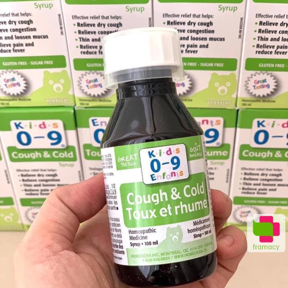 Siro Cough & Cold Syrup for Kids cho bé 0-9 tuổi