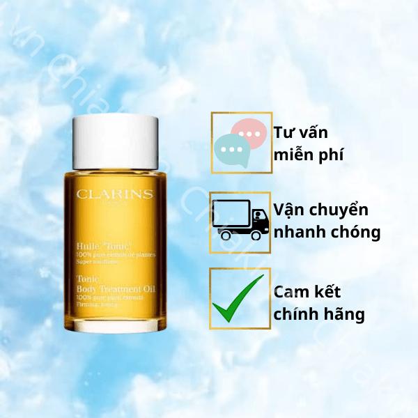 Dầu dưỡng thể Clarins Tonic Body Treatment Oil