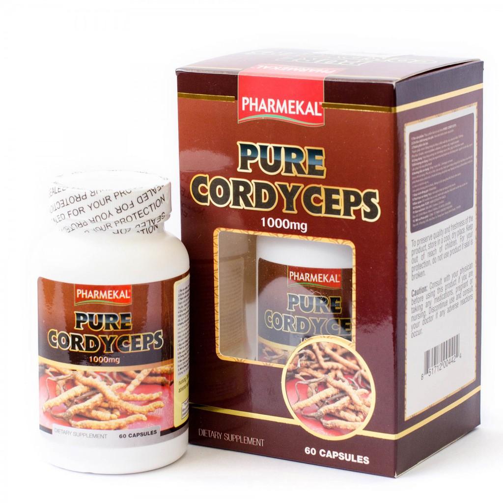 Đông trùng hạ thảo Pharmekal Pure Cordyceps 1000mg
