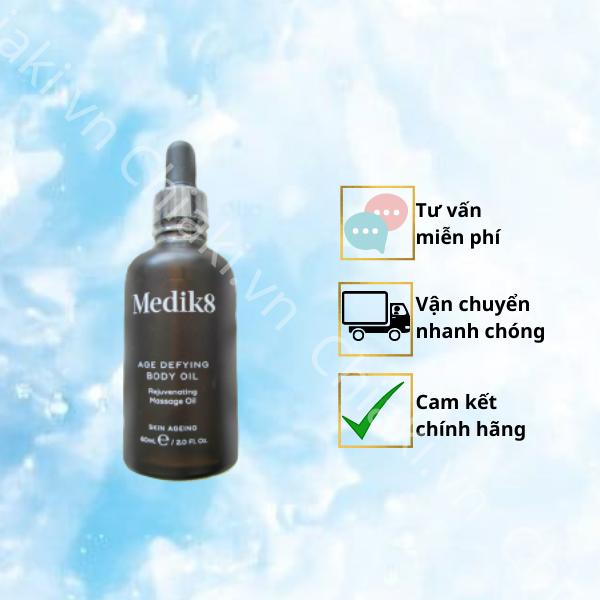 Tinh dầu dưỡng thể Medik8 Age Defying Body Oil 60ml