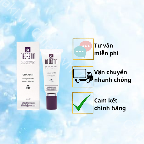 Kem chống nắng Neoretin Discrom Control Gel Cream SPF 50