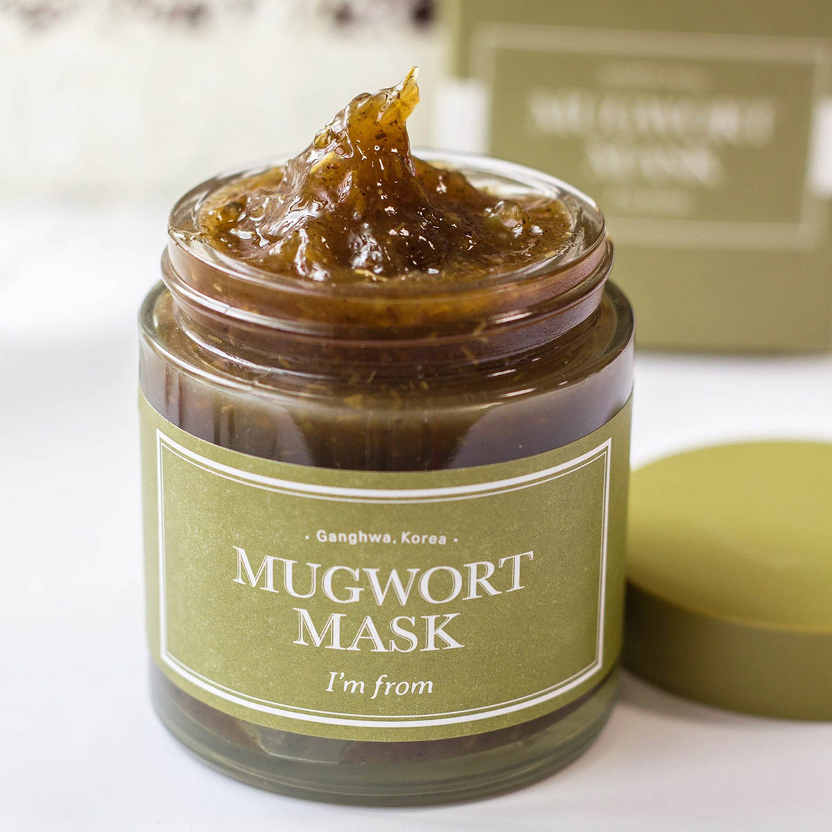 Mặt nạ ngải cứu I'm from Mugwort Maskhỗ trợ trị mụn