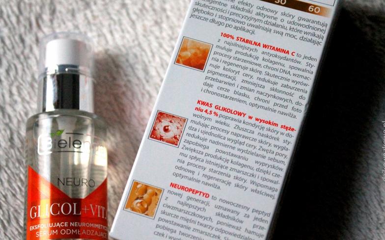 Serum dưỡng da Bielenda neuro Glycol + VitC hỗ trợ dưỡng trắng dáng da