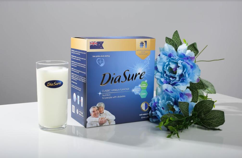 Sữa non DiaSure Úc- Dinh dưỡng cho người tiểu đường