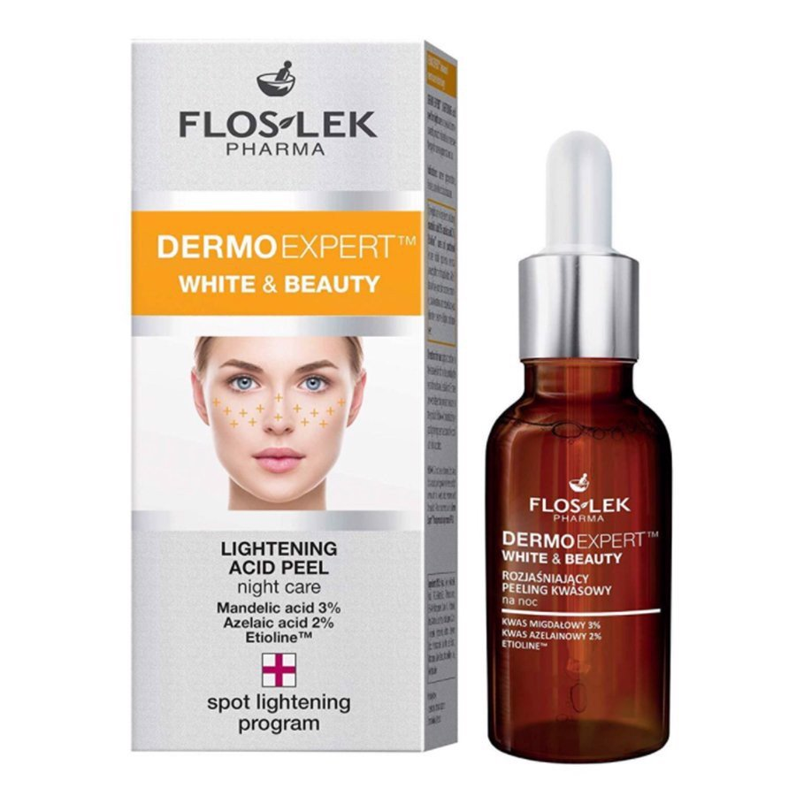 Tinh chất peel tái tạo da Floslek Lightening Acid Peel Night Care