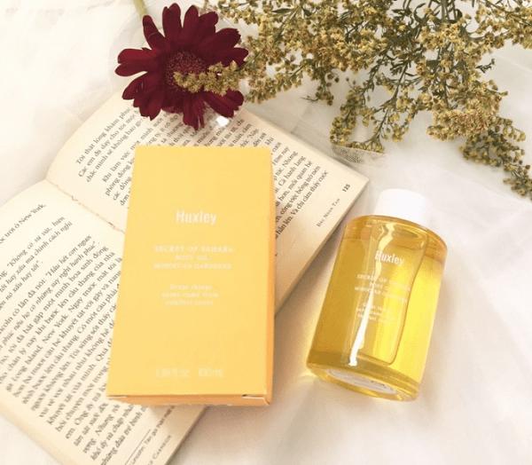 Tinh dầu dưỡng thể Huxley Body Oil Moroccan Gardener