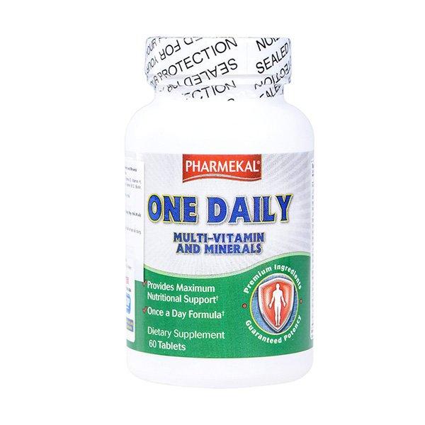 Pharmekal One Daily Multivitamin And Mineral bổ sung vitamin và khoáng chất