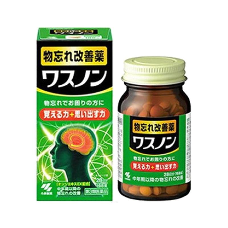 Viên uống bổ não Kobayashi Nhật Bản