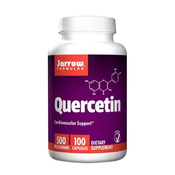 Viên uống Jarrow Quercetin 500mg hỗ trợ người bị gút