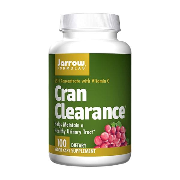 Viên uống hỗ trợ đường tiết niệu Jarrow Cran Clearance 100 viên chính hãng Mỹ