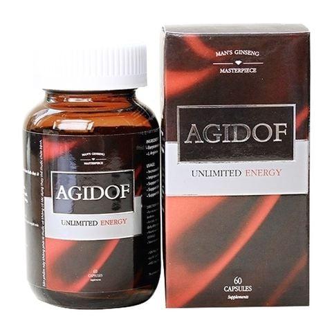 Agidof - Viên Uống Cải Thiện Sinh Lý, Giúp Quý Ông Thêm Sung Mãn