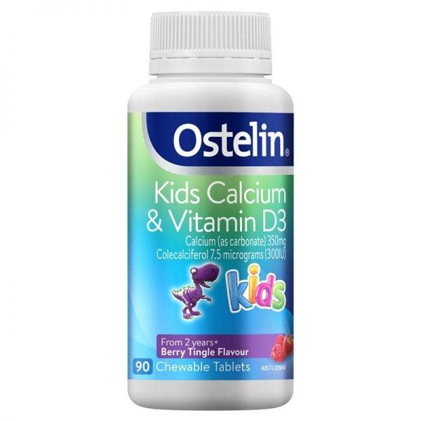 Canxi tốt cho bà bầu – Ostelin và Vitamin D