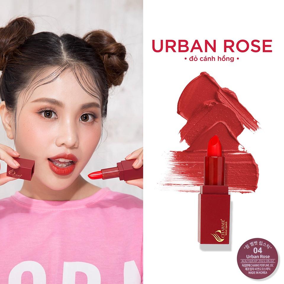 Son Lì Charme Mềm Mịn Như Nhung Velvet Lipstick Hàn Quốc 4