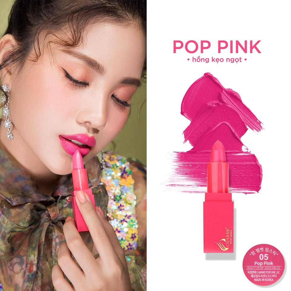 Son Lì Charme Mềm Mịn Như Nhung Velvet Lipstick Hàn Quốc 5