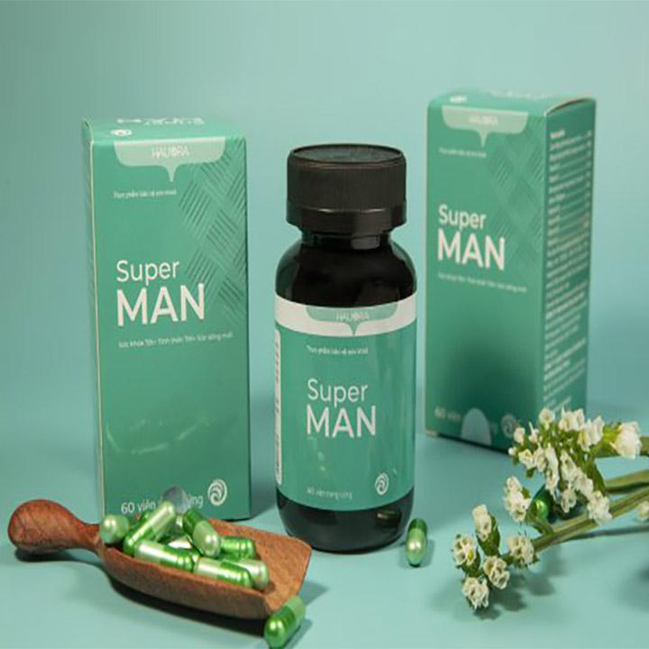 Vitamin Supper Man Hauora Hỗ Trợ Tăng Cường Sinh Lực Phái Mạnh 2