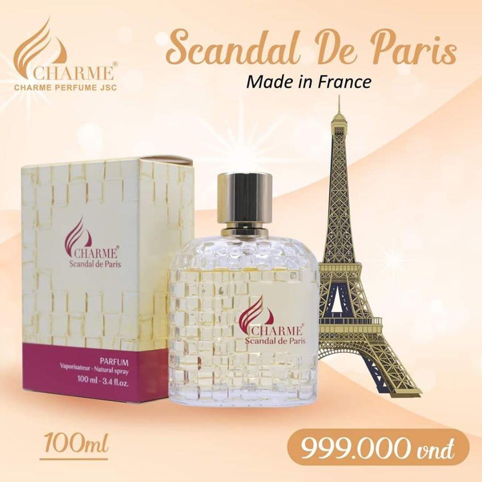 Nước Hoa Nữ Charme Scandal De Paris Pháp 100ml 1