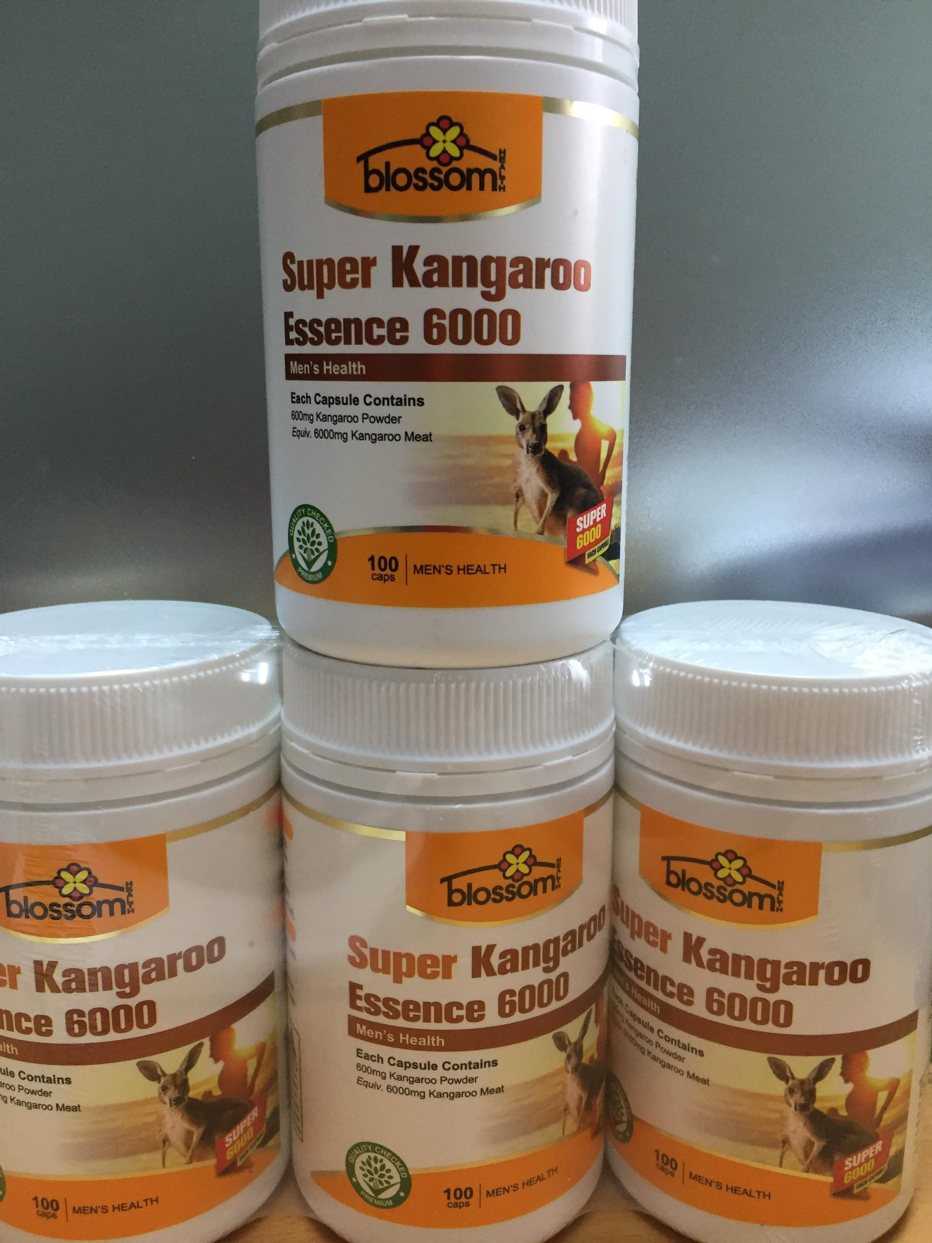 Viên Uống Hỗ Trợ Sinh Lý Nam Giới Blossom Super Kangaroo Essence 6000 1
