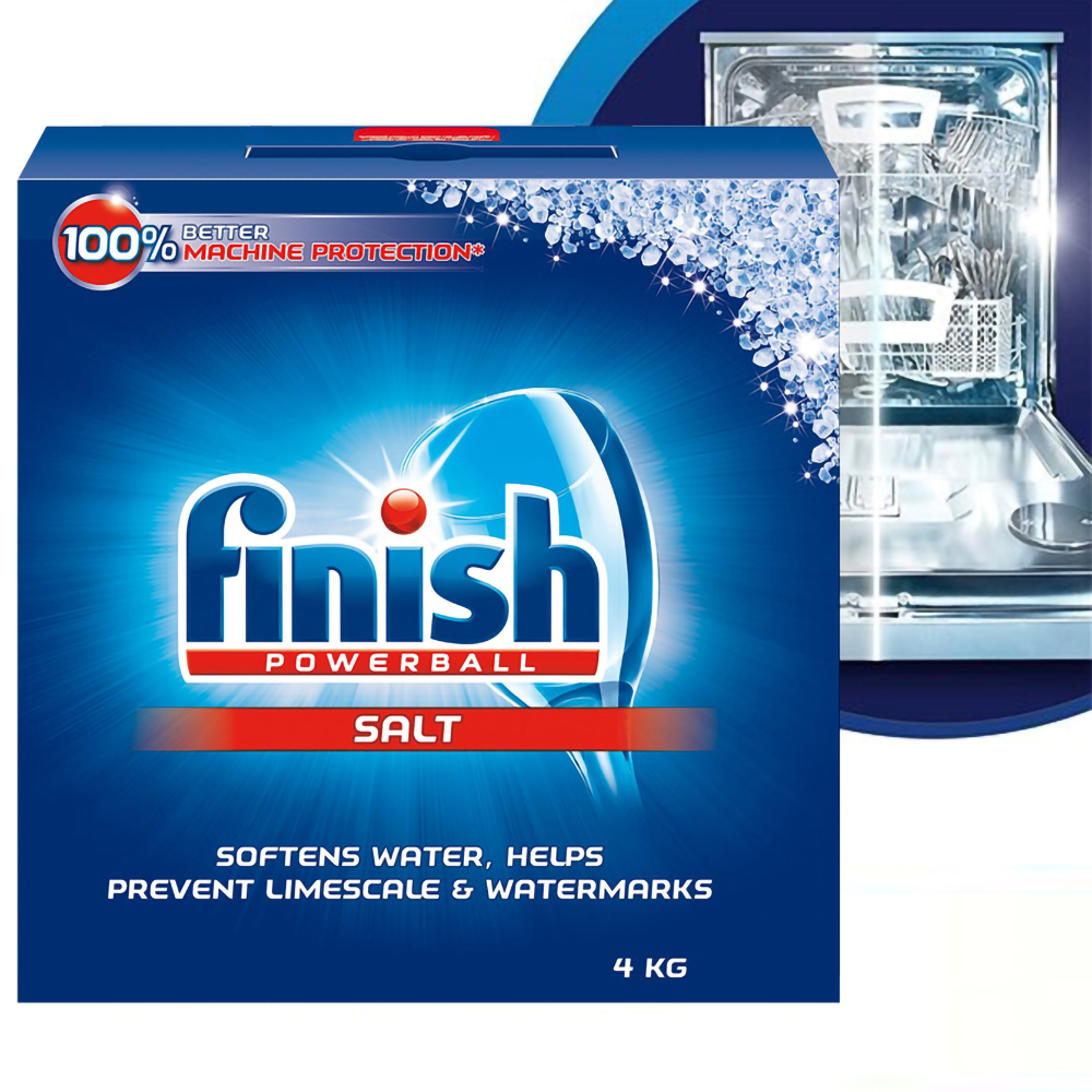 Muối rửa chén Finish Dishwasher Salt 4kg QT017389 1