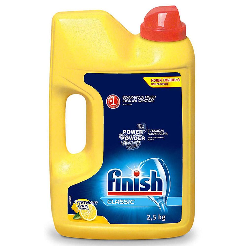 Bột rửa chén Finish 2,5 kg QT017384 hương chanh 1
