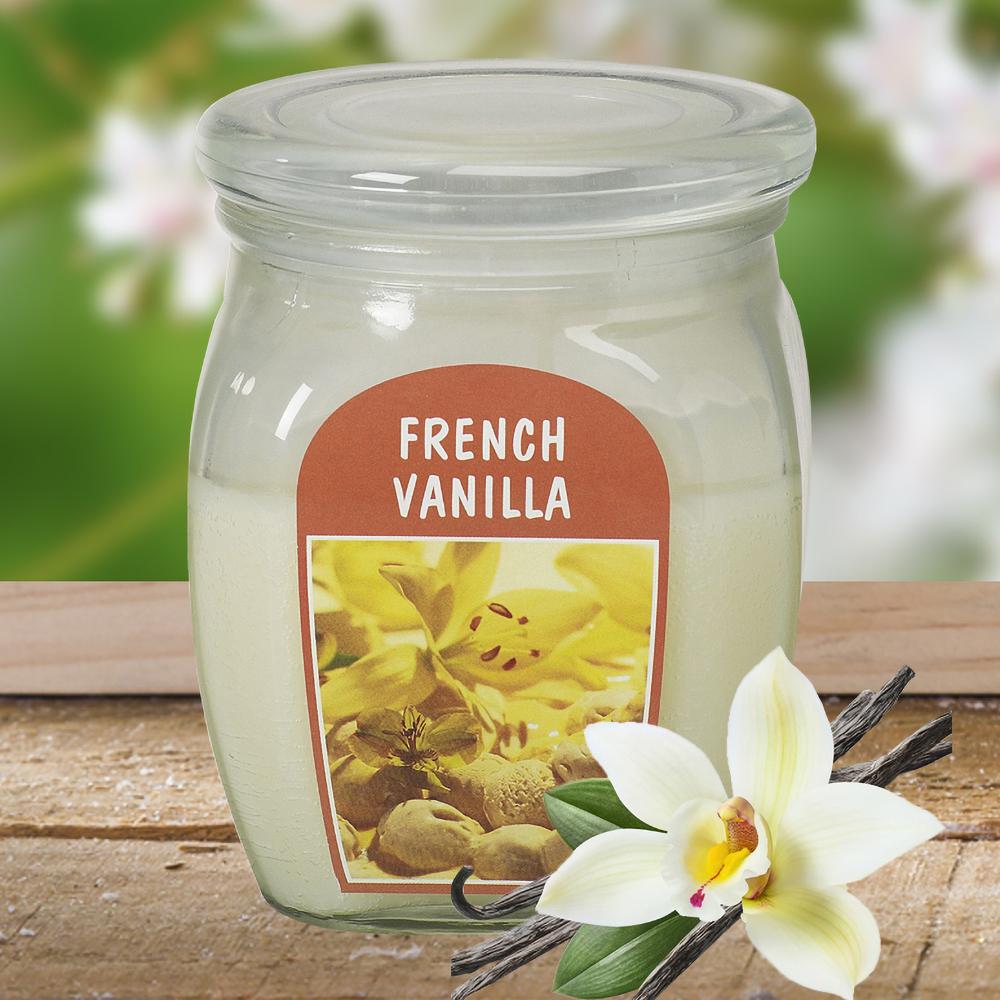 Hũ nến thơm tinh dầu Bolsius 305g QT024364 hương hoa vani 1