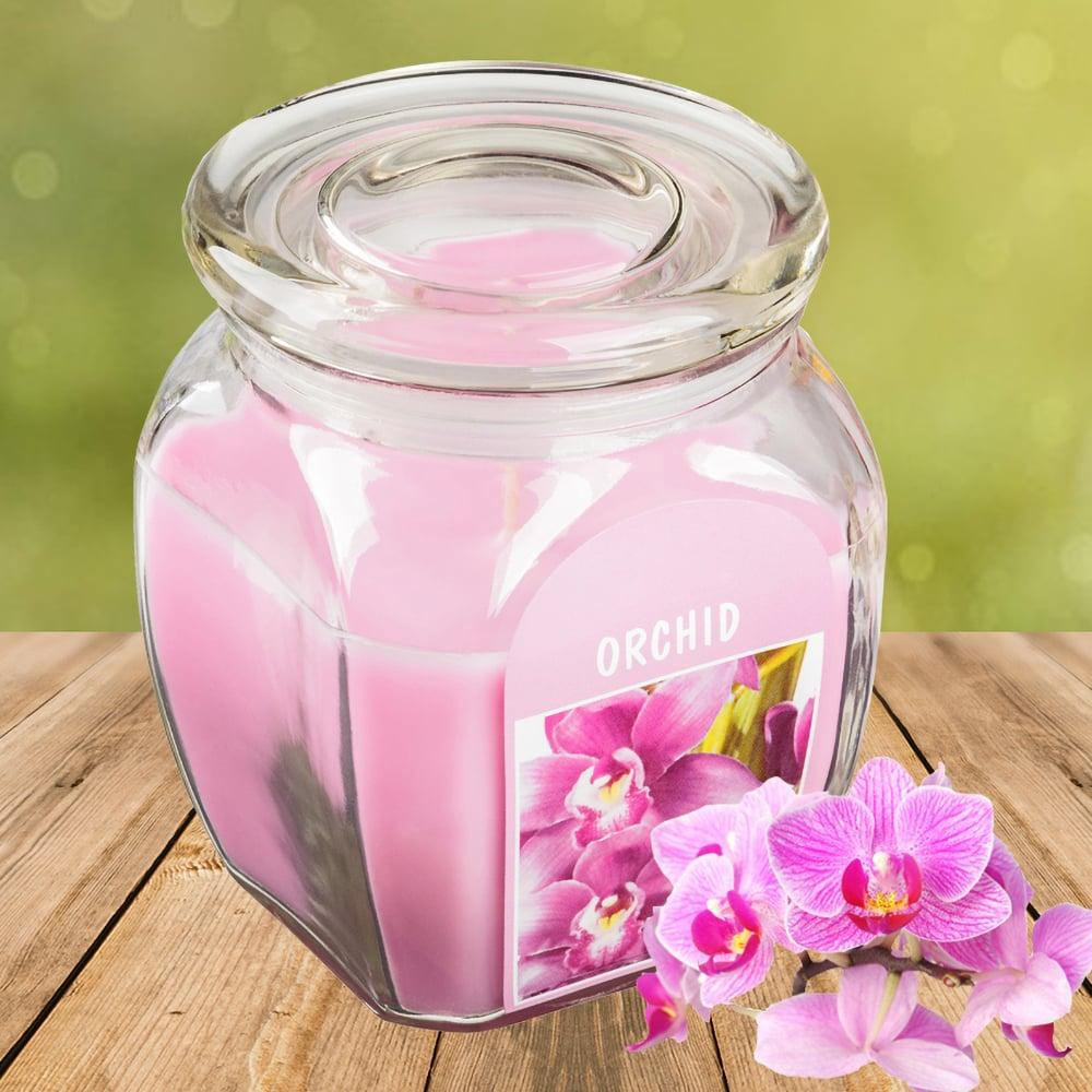 Hũ nến thơm tinh dầu Bolsius 305g QT024367 hương hoa lan 1