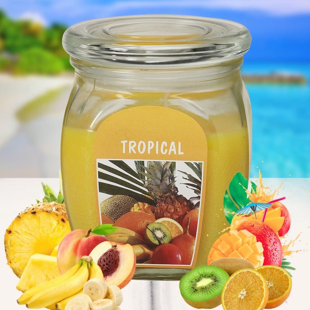 Hũ nến thơm tinh dầu Bolsius 305g QT024369 hương trái cây 1