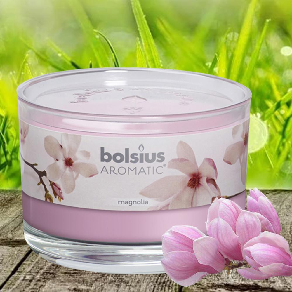 Ly nến thơm tinh dầu Bolsius 155g QT024870 hoa mộc lan 1