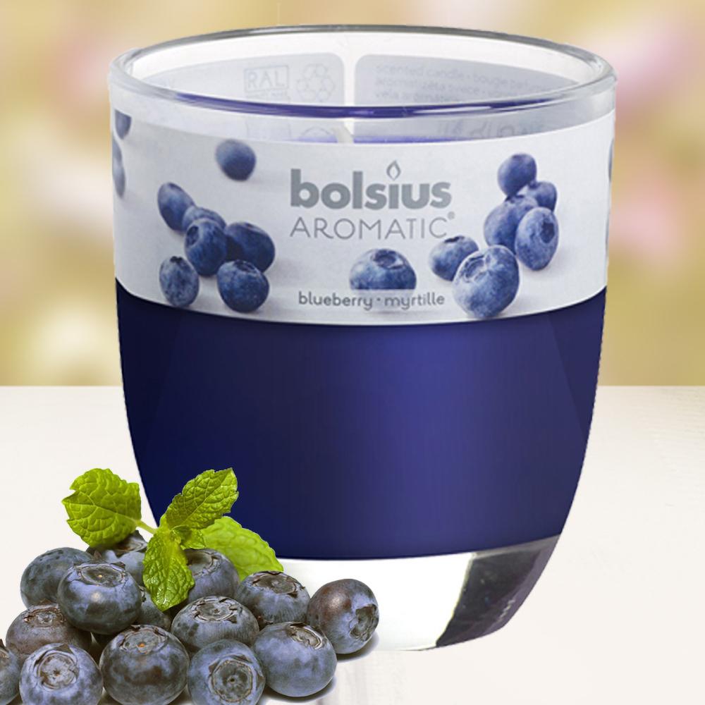 Ly nến thơm tinh dầu Bolsius 105g QT024348 hương việt quất 1