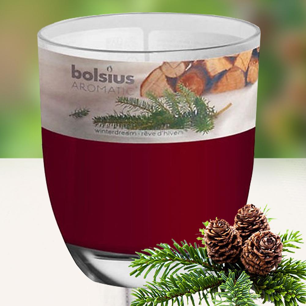 Ly nến thơm tinh dầu Bolsius 105g QT024350 hương gỗ thông 1