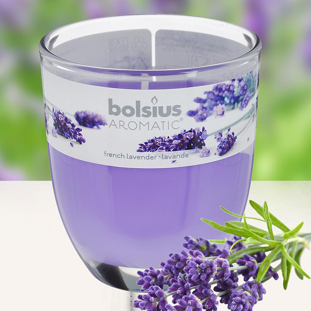 Ly nến thơm tinh dầu Bolsius 105g QT024340 hoa oải hương 1