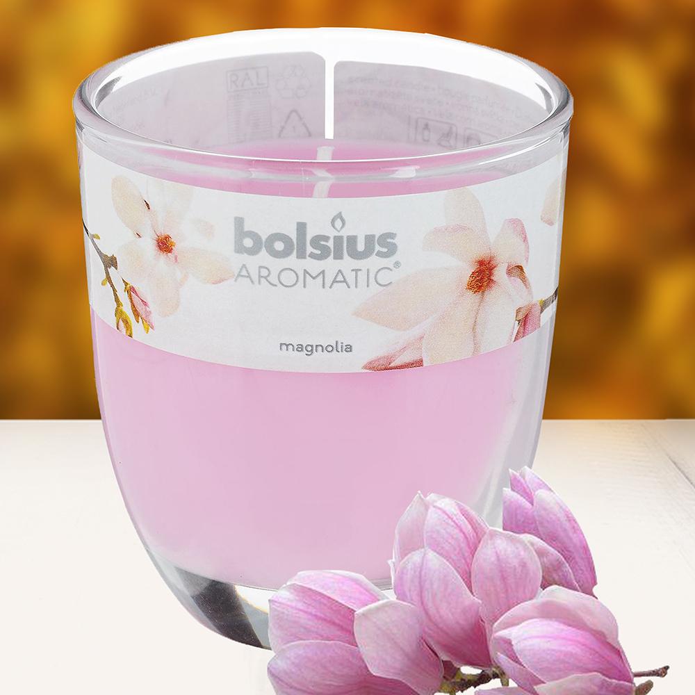 Ly nến thơm tinh dầu Bolsius 105g QT024332 hoa mộc lan 1