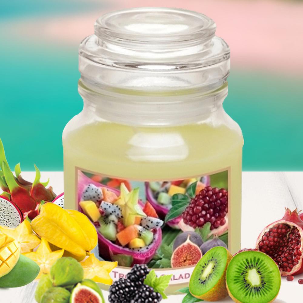 Hũ nến thơm tinh dầu Bartek 130g QT028520 hương trái cây 2