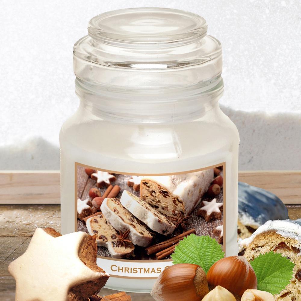 Hũ nến thơm tinh dầu Bartek 130g QT06651 hương bánh quế 1