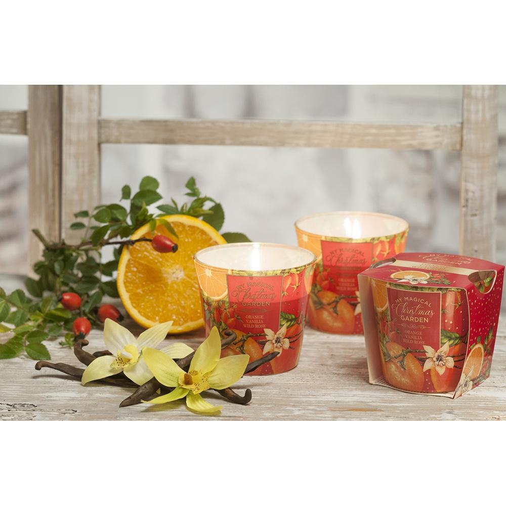 Ly nến thơm tinh dầu Bartek 115g QT028601 cam, lê, quế 1