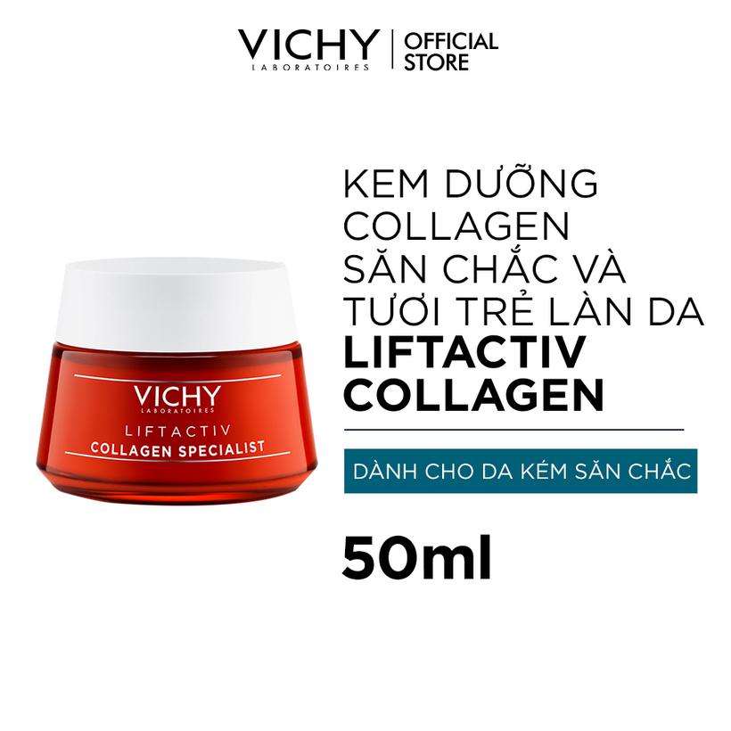 Kem Dưỡng Vichy Collagen Chuyên Biệt Dành Cho Ngày và đêm 1
