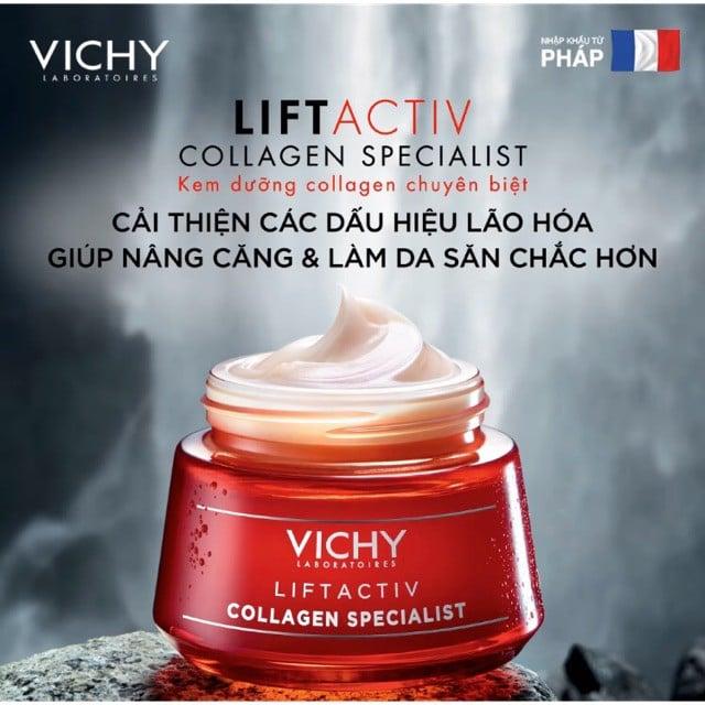 Kem Dưỡng Vichy Collagen Chuyên Biệt Dành Cho Ngày và đêm 2