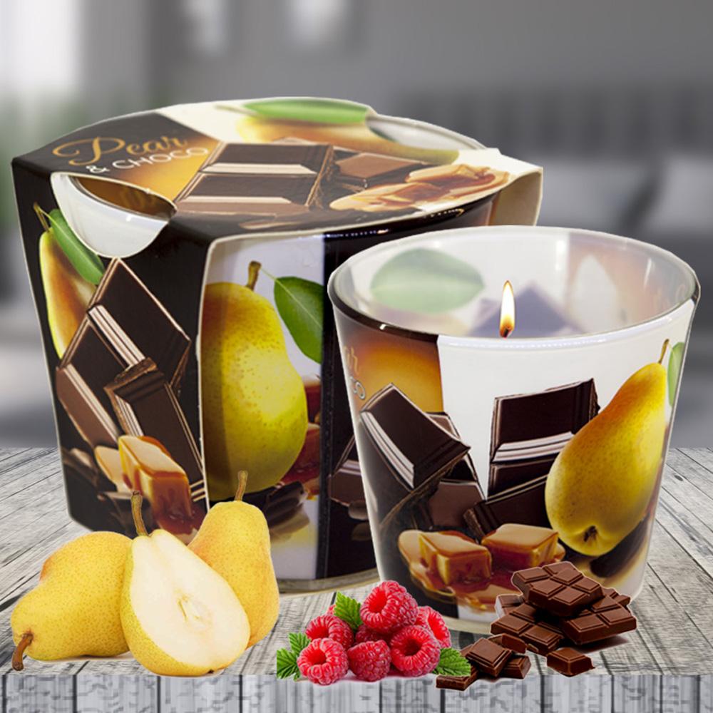 Ly nến thơm tinh dầu Bartek 115g QT024464 sôcôla bạc hà 2