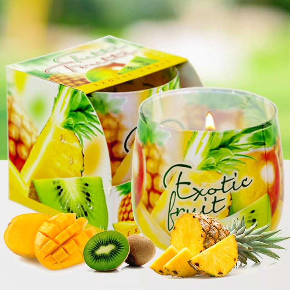 Ly nến thơm tinh dầu Bartek 100g QT024479 trái cây rừng 1