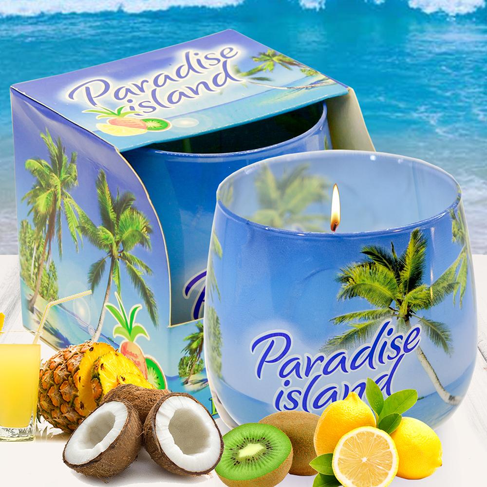 Ly nến thơm tinh dầu Bartek 100g QT02780 hương gió biển 1
