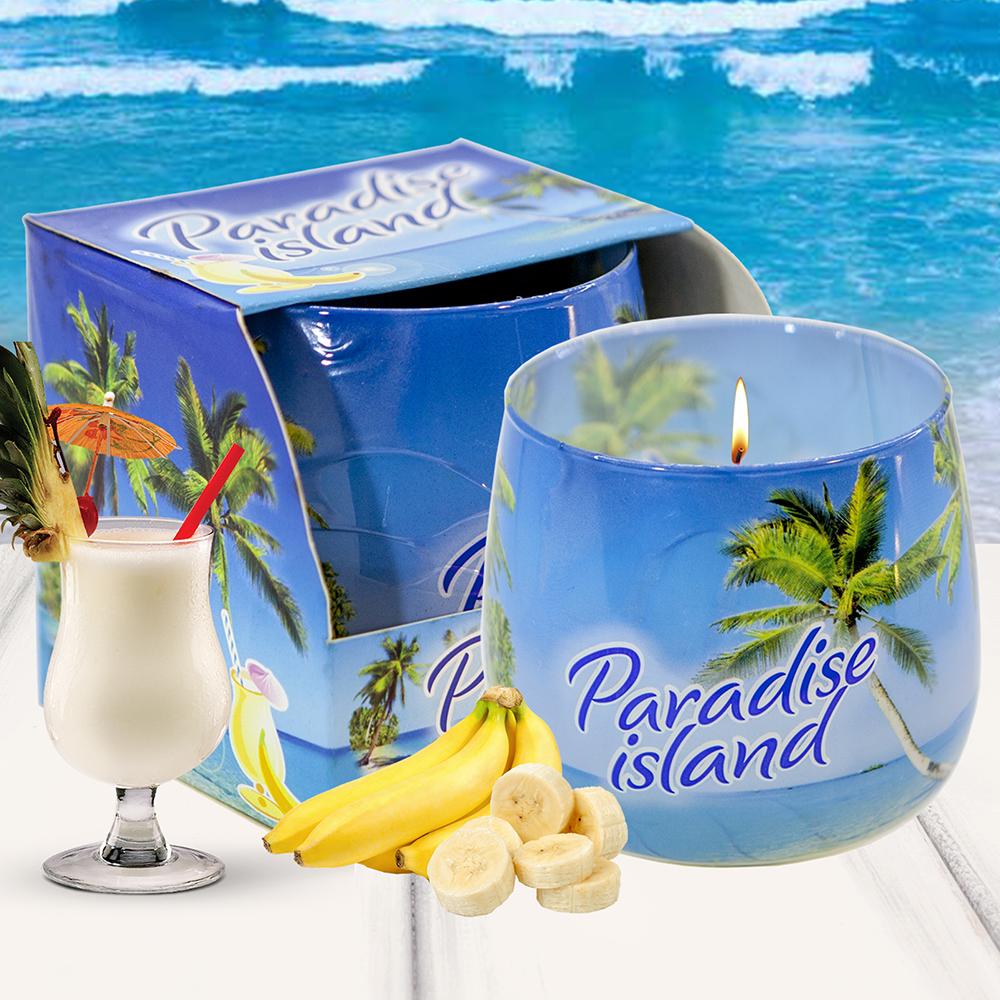 Ly nến thơm tinh dầu Bartek 100g QT02780 hương gió biển 2