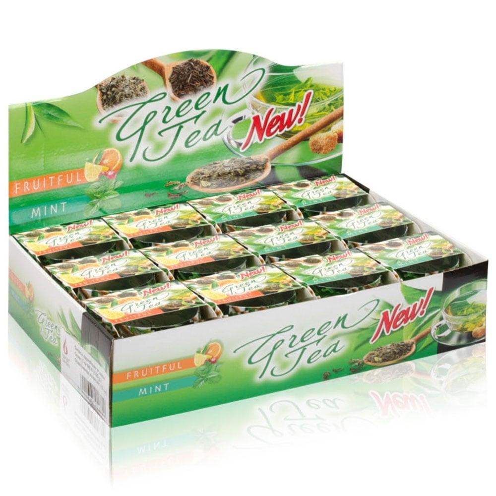 Ly nến thơm tinh dầu Bartek 100g QT024467 hương trà xanh 2