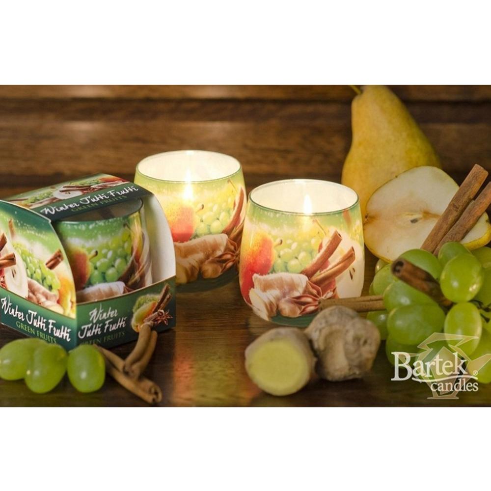 Ly nến thơm tinh dầu Bartek 100g QT024471 nho, quế, lựu 2
