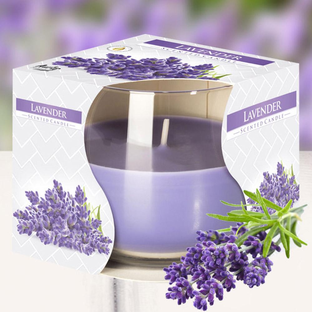 Ly nến thơm tinh dầu Bispol 100g QT024458 hoa oải hương 1