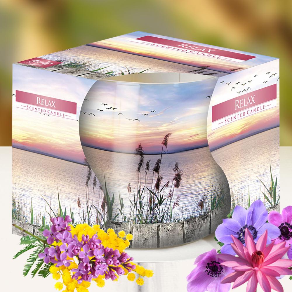 Ly nến thơm tinh dầu Bispol 100g QT04317 hương cây lau 1