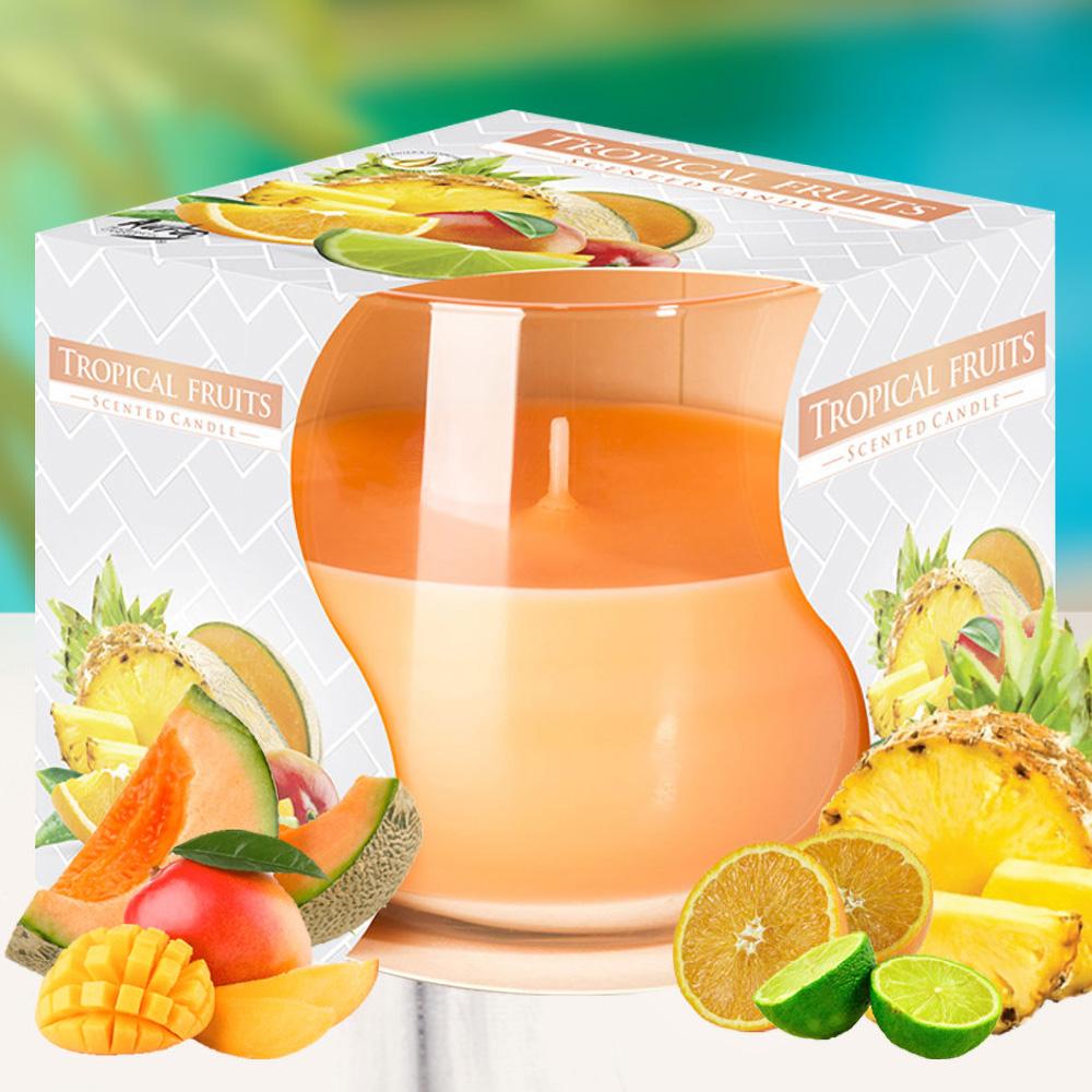 Ly nến thơm tinh dầu Bispol 100g QT024779 trái cây nhiệt đới 1