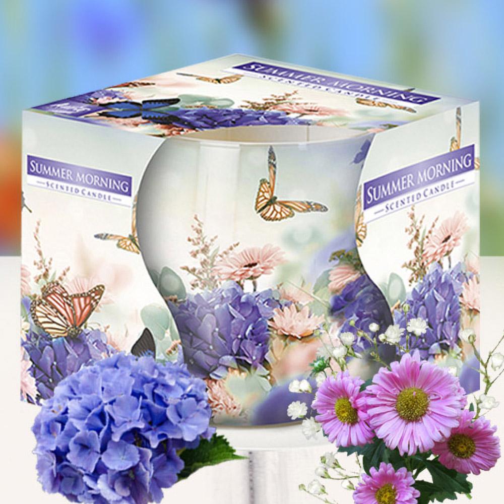Ly nến thơm tinh dầu Bispol 100g QT04319 hoa cẩm tú cầu 1