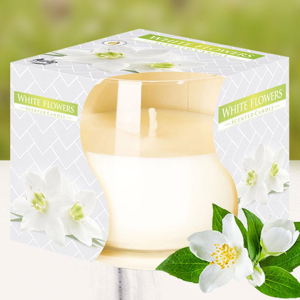 Ly nến thơm tinh dầu Bispol 100g QT024774 hoa nhài tây 1