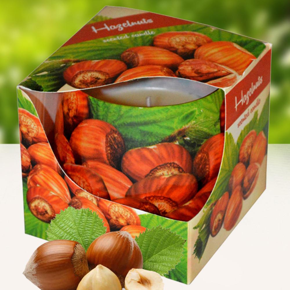 Ly nến thơm tinh dầu Admit 100g QT04534 hương hạt phỉ 1